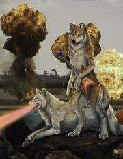 Laser-wolves
