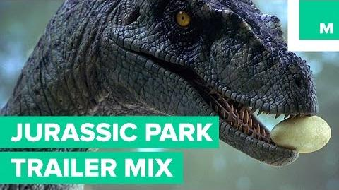 'Jurassic Park' as a Nature Documentary - Trailer Mix