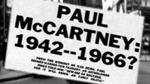 PAUL McCARTNEY REALLY IS DEAD The Last Testament of George Harrison