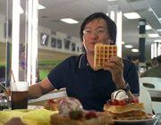 Waffle shield