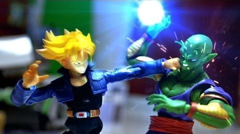 Dragon ball Z Stop Motion - Piccolo VS Trunks 七龍珠-比克VS特南克斯