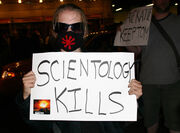 Scientology-protest