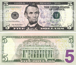 United-States-Five-Dollar-Federal-Reserve-Note