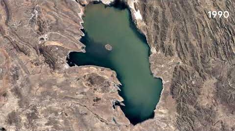 Poopó Lake, Oruro, Bolivia