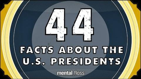 44 Facts About the U.S. Presidents - mental floss on YouTube (Ep
