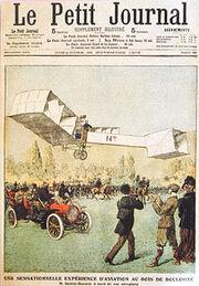 Le Petit Journal Santos Dumont 25 Novembre 1906
