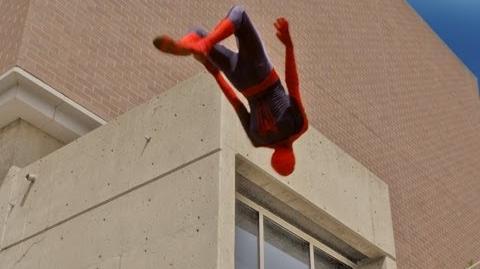 The Amazing Spider-Man Parkour