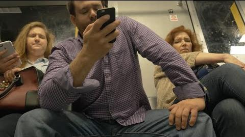 "NYC Subways The REAL Reason Men ""Manspread"""