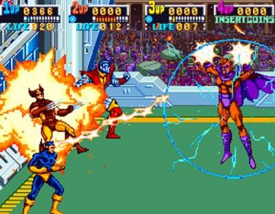 X-Men-Arcade