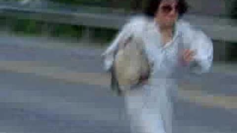 Crazy Running lady