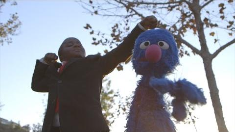 A Pep Talk from Kid President and GROVER!