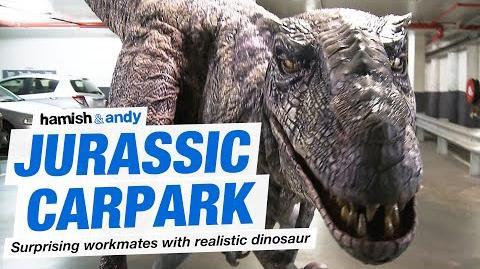 Jurassic Carpark - Hamish & Andy