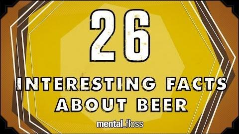26 Interesting Facts About Beer - mental floss on YouTube (Ep