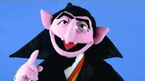 Sesame Street The Count Von Count counts Pi to 10,000 places ( Ten Thousand Digits )