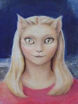 Alien Cat Queen