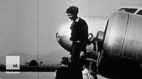 New video of Amelia Earhart before her last flight finally sees the light of day Mashable