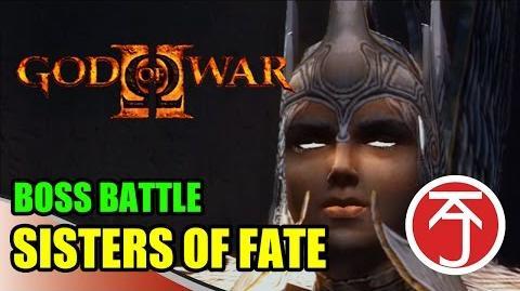 God Of War II - BOSS BATTLE-The fate of the fates (ha!)