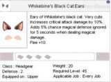 Whikebine's Black Cat Ears