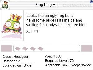 FrogKingHat