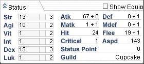 Stats Window II