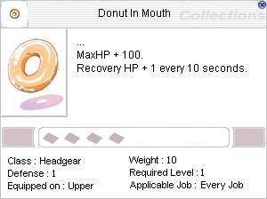 DonutInMouth