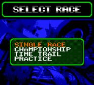 Gbc select race