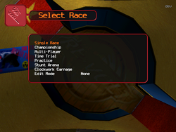 Game play select
