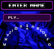 Gbc enter name