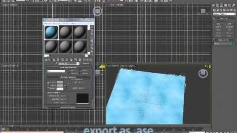 (tutorial)3Ds max W Console = Texture Animation