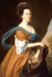 1769 John Singleton Copley (1738-1815). Elizabeth Murray (Mrs. James Smith). Museum of Fine Arts, Boston.