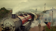 Patriot's steam train