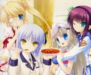 Angel beats!xrewritexlittle busters!
