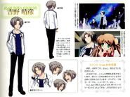 Diseño de Yoshino OP animado