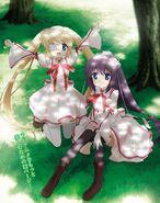 Lucia y Sizuru - Dengeki G's magazine