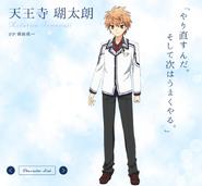 Kotarou diseño anime