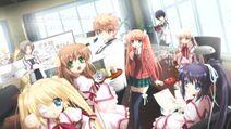 Kotarou and his school friends