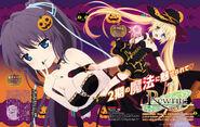 Lucia y Sizuru Halloween