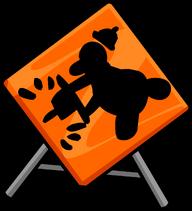 Construction Sign sprite 002