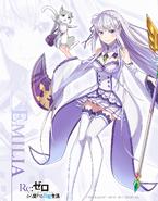 White Cat Proyecto Emilia Wallpaper