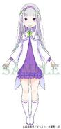 Young Emilia LN Character Art