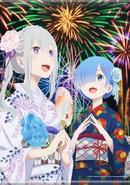 Emilia & Rem Tapestry