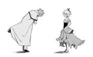 Reinhard and Felt - Daisanshou Manga 3