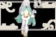 Bond of Ice Puck & Emilia Character Art