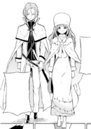 Julius and Anastasia - Daisanshou Manga