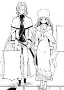 Julius and Anastasia - Daisanshou Manga
