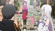 Kadomon's Wife and Daughter - Re Zero Anime BD