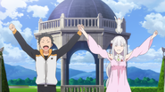 Emilia and Subaru BD Victory