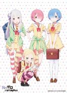 Re Zero - Poster Escolar
