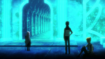 Natsuki Subaru, Garfiel Tinsel and Ryuzu Meyer ep.30