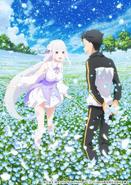 Póster OVA - Septiembre 2018 Subaru y Emilia